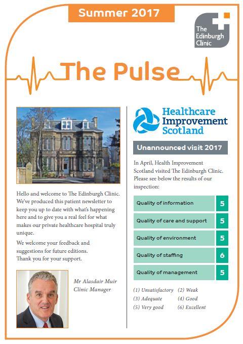 Edinburgh clinic newsletter