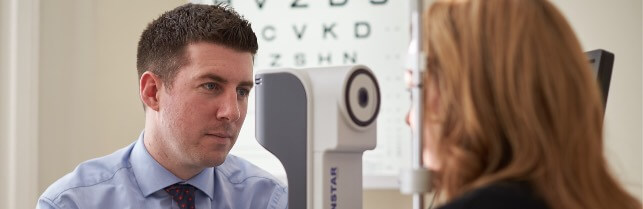 Eye clinic tests